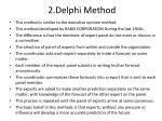 2 delphi method