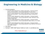 engineering in medicine biology