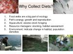 why collect diets