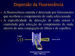 dispers o da fluoresc ncia