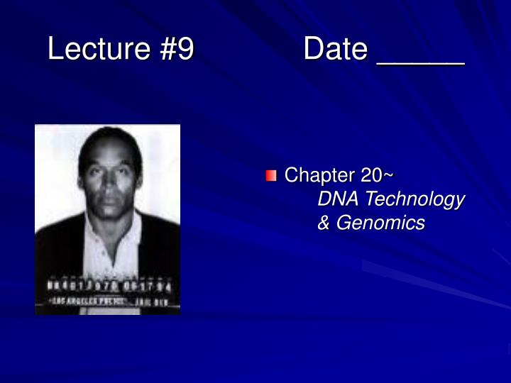 lecture 9 date n.