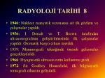 radyoloj tar h 8