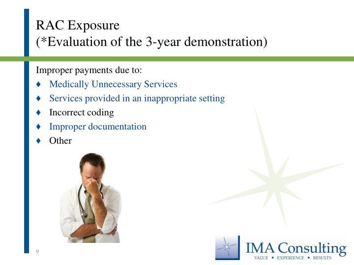RAC Exposure