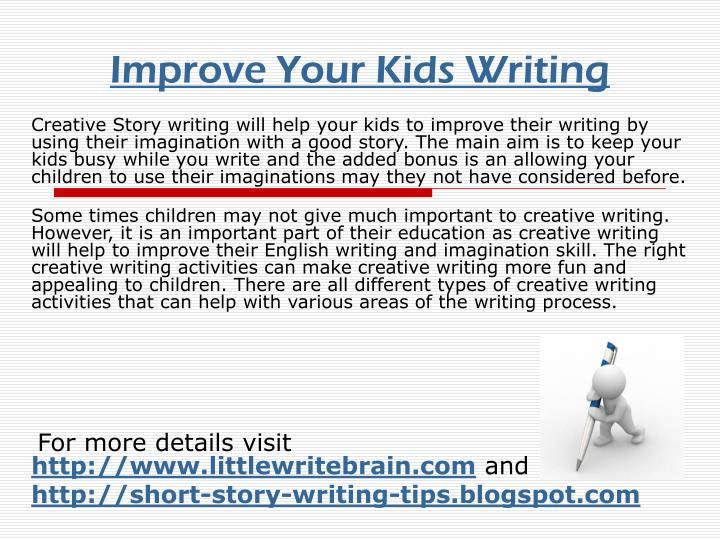 improve your kids writing n.