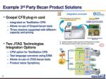 example 3 rd party bscan product solutions