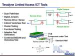 teradyne limited access ict tools