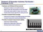 teradyne s 3 rd generation vectorless test solution framescan fx 2 0