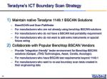 teradyne s ict boundary scan strategy