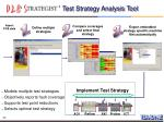 test strategy analysis tool