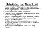 uzbekistan dan demokrasi