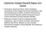 uzbekistan sebagai republik bagian uni soviet