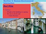 section 3 human environment interaction2