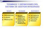 terminos y definiciones del sistema de gestion integrado