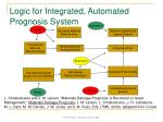 logic for integrated automated prognosis system