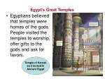 egypt s great temples