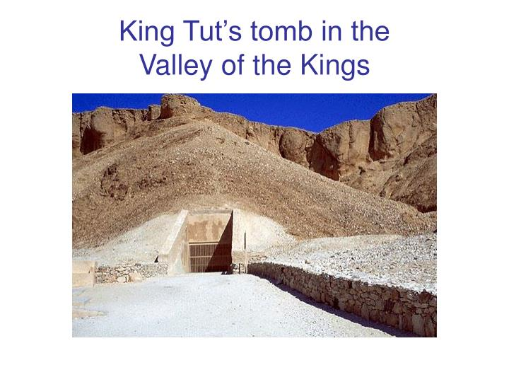 King Tut's tomb in the