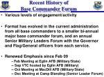 recent history of base commander forum