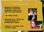 aerosoltherapie