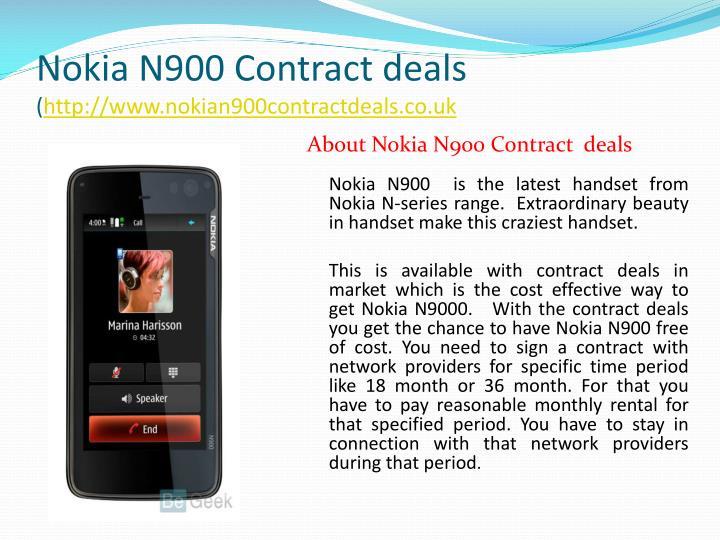 Nokia n900 contract deals http www nokian900contractdeals co uk2