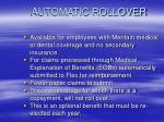 automatic rollover