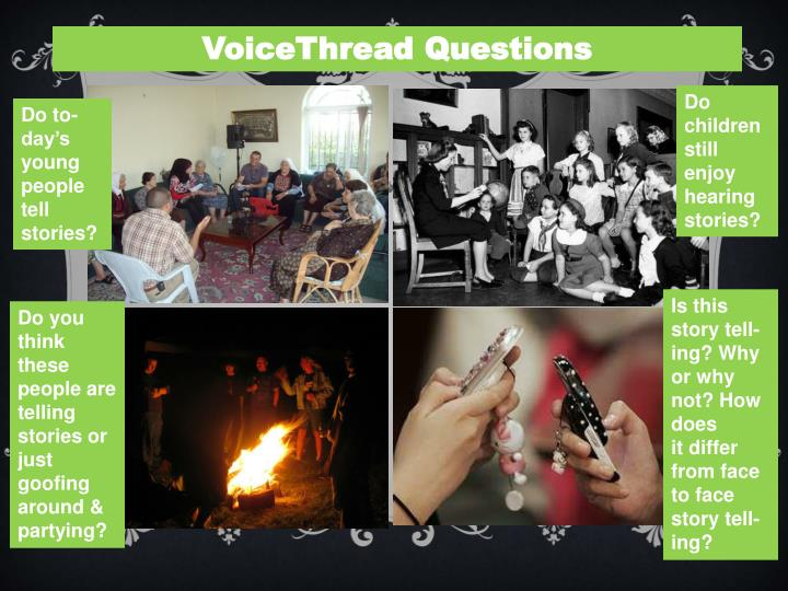 VoiceThread Questions
