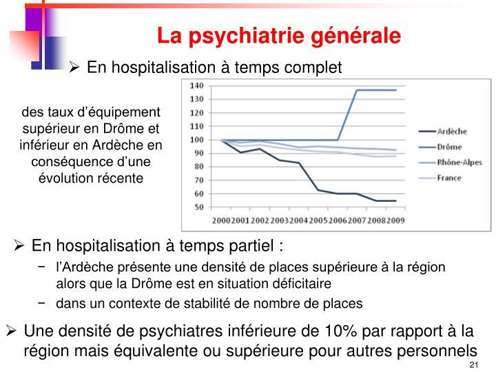 La psychiatrie générale