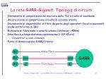 la rete garr giganet tipologia di circuiti