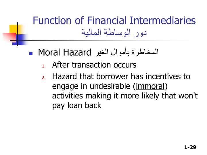 Function of Financial