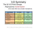 3 d symmetry13