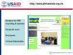 http www pbfrwanda org rw