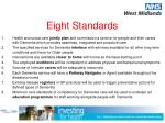 eight standards