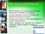 new jersey anti bullying law