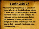 1 john 2 26 27