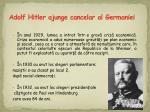 adolf hitler ajunge cancelar al germaniei