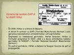 carnetul de membru dap al lui adolf hitler