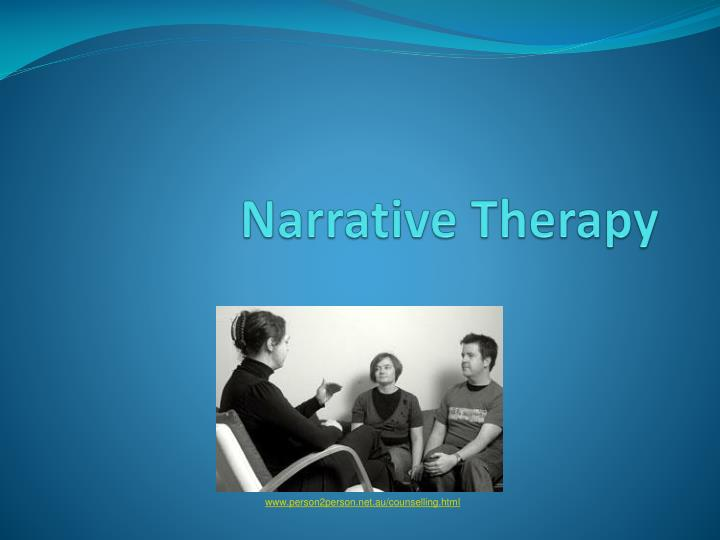 narrative therapy n.