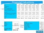 financial valuations2