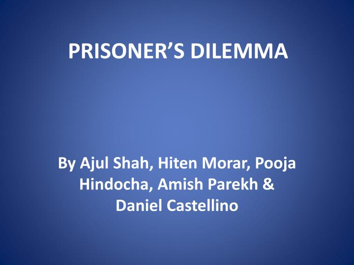 prisoner s dilemma n.