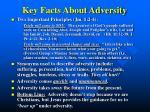 key facts about adversity