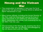 hmong and the vietnam war