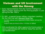 vietnam and us involvement with the hmong