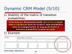 dynamic crm model 5 10