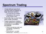 spectrum trading