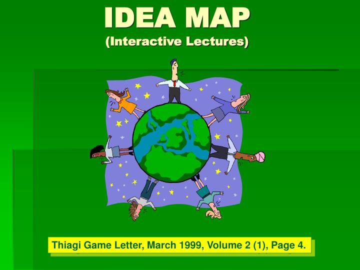 idea map interactive lectures n.
