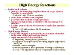 high energy reactions1