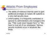 attacks from employees1