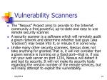 vulnerability scanners1