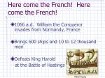 here come the french here come the french