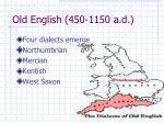 old english 450 1150 a d