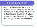 force measurement1
